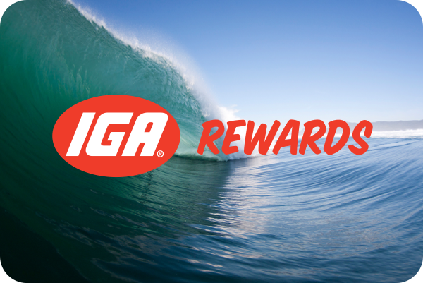 Smart Rewards from IGA Thirroul - real rewards!